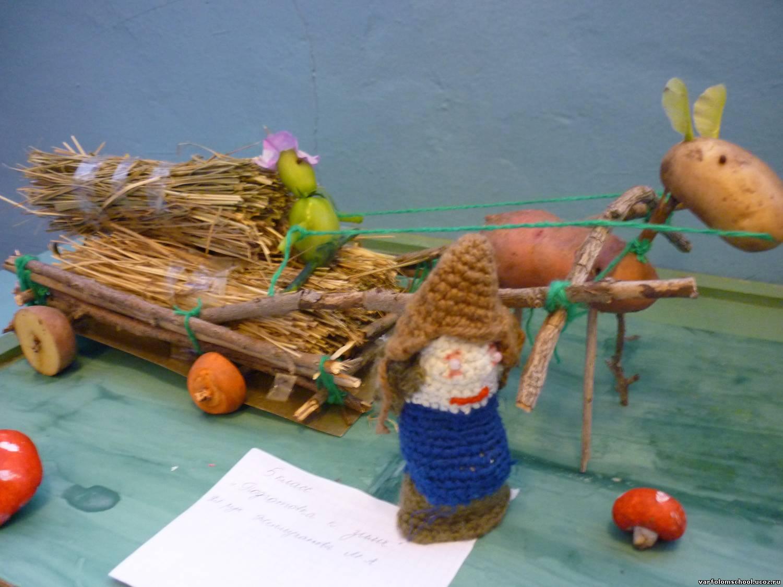 Овощи и фрукты своими руками из подручных материалов 30